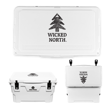 Load image into Gallery viewer, Wicked North x Big Frig 45 QT Badlands Cooler - Multiple Colors