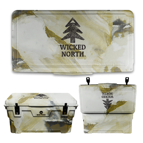 Wicked North x Big Frig 75 QT Badlands Cooler - Multiple Colors