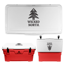 Load image into Gallery viewer, Wicked North x Big Frig 75 QT Badlands Cooler - Multiple Colors
