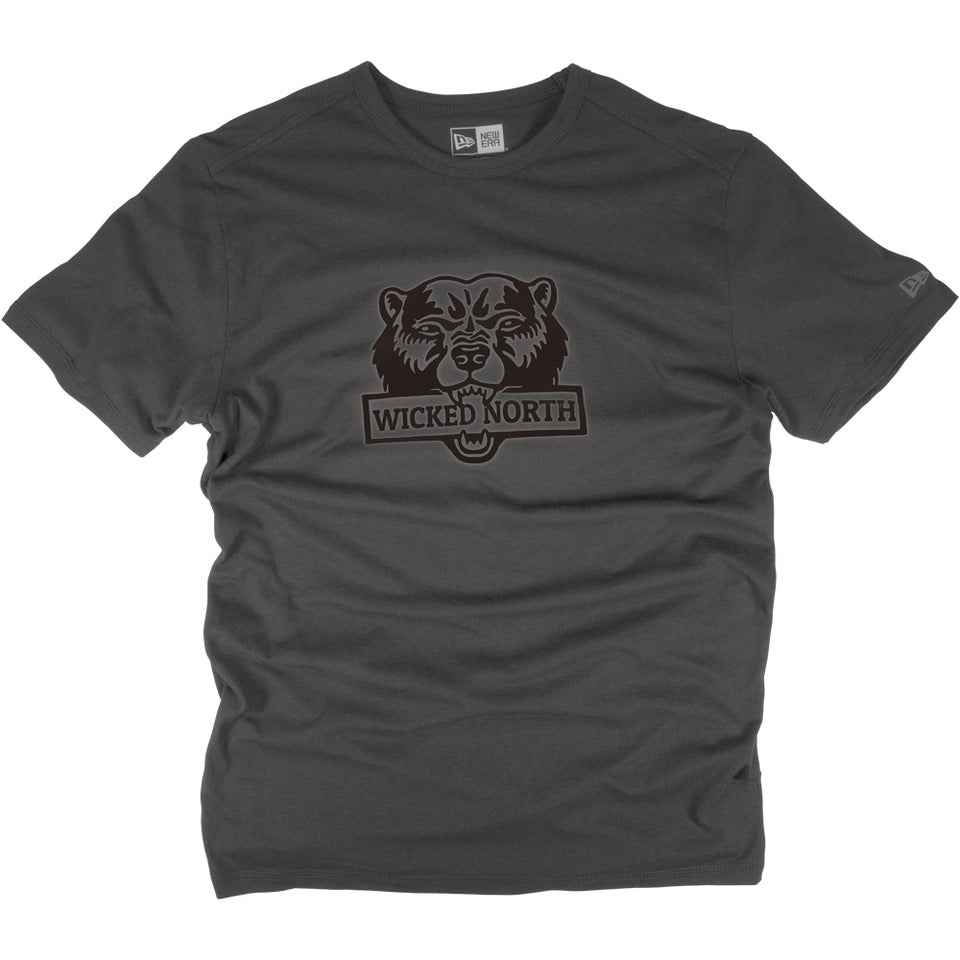 Wicked Bear Dark Graphite Short Sleeve T-Shirt