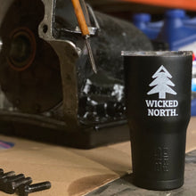 Load image into Gallery viewer, Wicked North™ // Big Frig Black 20 oz. Tumbler