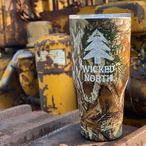 Wicked North™ // Big Frig Camo 30 oz. Tumbler