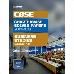 Arihant  - BUSINESS STUDIES Chapterwise Solved Papers  - 12                 (2019 - 2020) - bookmarshal.com