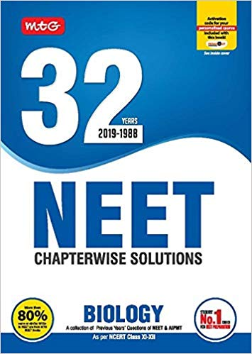 BIOLOGY - 32 Years NEET  Chapterwise Solutions                  (2019 - 2020) - bookmarshal.com