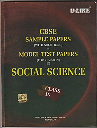 U-Like  - SOCIAL SCIENCE (with solutions)  - 9                   (2019 - 2020) - bookmarshal.com