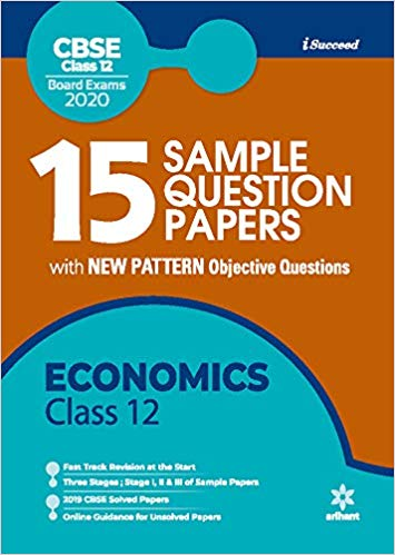 Arihant isucceed   - ECONOMICS   with MCQs - 12                  (2019 - 2020) - bookmarshal.com