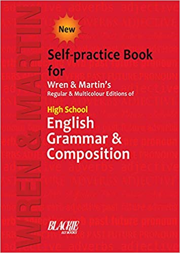 High School English Grammar and Composition Self-practice Book - bookmarshal.com
