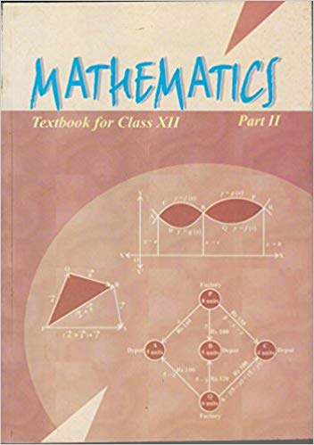 Mathematics Textbook Part - 2 for Class - 12          2020      CBSE - bookmarshal.com