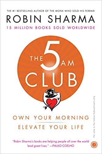 The 5 AM Club: Own Your Morning, Elevate Your Life - bookmarshal.com