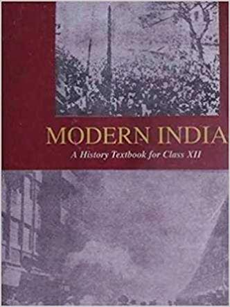 MODERN INDIA -  Old Ncert History Textbook By Bipin Chandra - bookmarshal.com