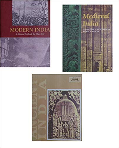 OLD NCERT BOOKS (HISTORY) - ANCIENT INDIA (R.S. SHARMA) , MEDIEVAL INDIA (SATISH CHANDRA) , MODERN INDIA (BIPIN CHANDRA) - bookmarshal.com