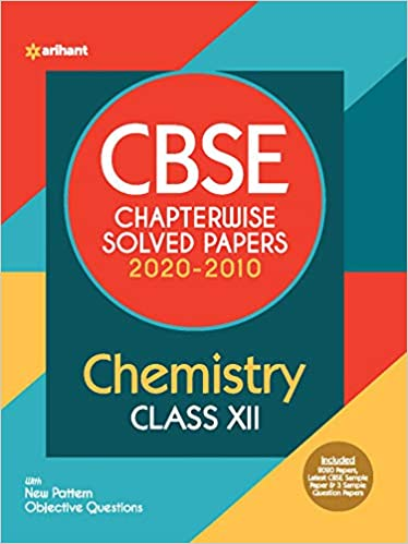 Arihant  - CHEMISTRY Chapterwise Solved Papers  - 12                 (2021)
