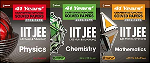 PHYSICS, CHEMISTRY, MATHEMATICS - 41 Years Chapterwise Topicwise Solved Papers (2019 - 1979)     IIT - JEE - bookmarshal.com