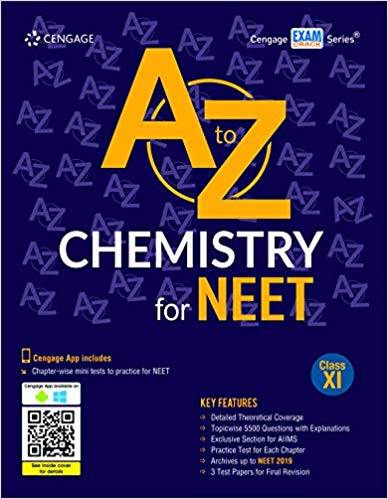 A to Z Chemistry for NEET:  Class 11          (2019 - 2020) - bookmarshal.com