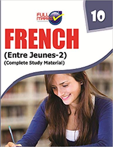 Full Marks -  FRENCH  - 10            (2019 - 2020)      CBSE - bookmarshal.com