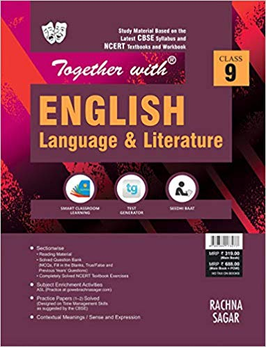 Together with  - ENGLISH (BEEHIVE , MOMENTS) study material - 9                  (2019 - 2020) - bookmarshal.com