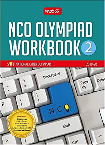 National Cyber Olympiad Work Book (NCO) - Class 2               (2019 - 2020) - bookmarshal.com