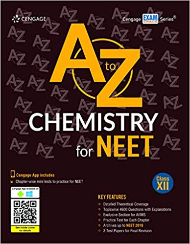 A to Z Chemistry for NEET:  Class 12          (2019 - 2020) - bookmarshal.com