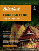 All in One  - ENGLISH CORE - 12                  (2019 - 2020) - bookmarshal.com