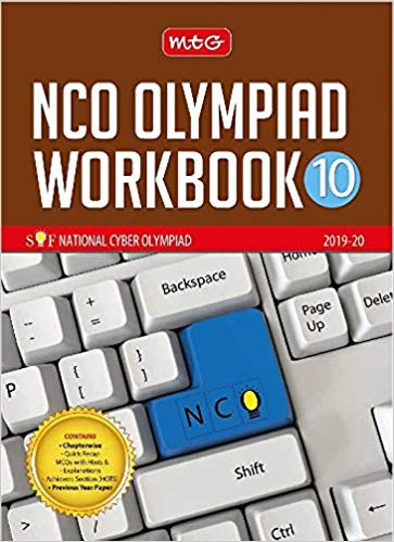 National Cyber Olympiad Work Book (NCO)  - Class 10               (2019 - 2020) - bookmarshal.com