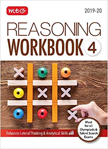 Olympiad Reasoning Work Book  - Class 4               (2019 - 2020) - bookmarshal.com