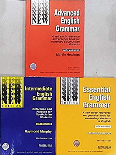 Cambridge Essential + Intermediate + Advanced English Grammar (Combo Pack of 3 Books with Answers) - bookmarshal.com