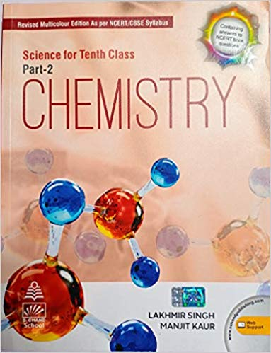 Science for Class 10 - Chemistry by Lakhmir Singh             (2020-2021 Examination) - bookmarshal.com