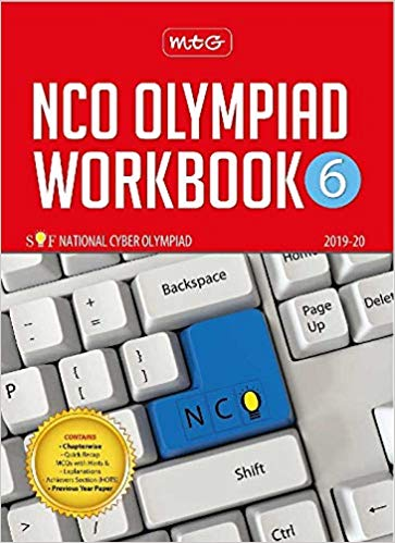 National Cyber Olympiad Work Book (NCO)  - Class 6               (2019 - 2020) - bookmarshal.com
