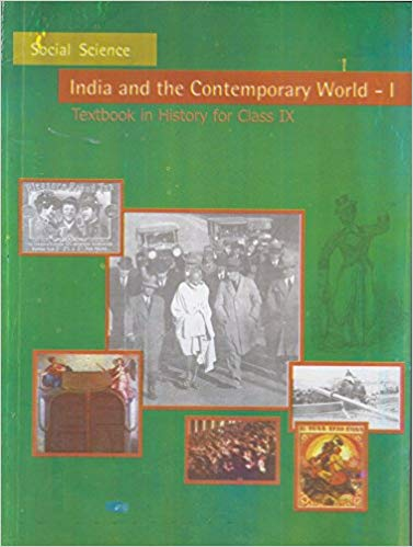 India and the Contemporary world Textbook in History for Class - 9          2019      CBSE - bookmarshal.com