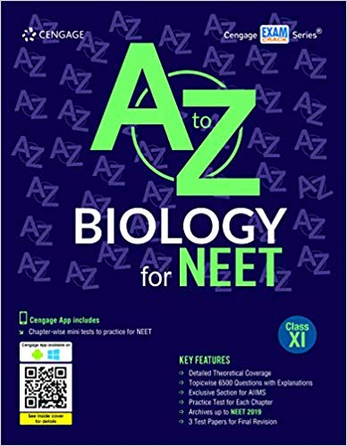 A to Z Biology for NEET:  Class 11          (2019 - 2020) - bookmarshal.com