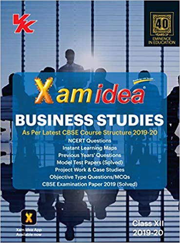 Xam Idea  - BUSINESS STUDIES - 12                  (2019 - 2020) - bookmarshal.com