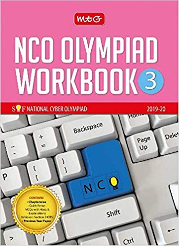 National Cyber Olympiad Work Book (NCO) - Class 3               (2019 - 2020) - bookmarshal.com