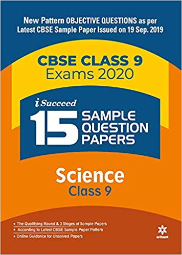 Arihant isucceed   - SCIENCE  with MCQs - 9                  (2019 - 2020) - bookmarshal.com