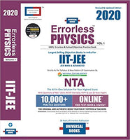 Errorless Physics for JEE Mains and Advanced (set of 2 volumes)  -  2020 edition - bookmarshal.com