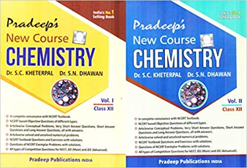 Chemistry - Pradeep's (Vol. 1 & 2) for class - 12        (2020- 2021 Session)      CBSE - bookmarshal.com