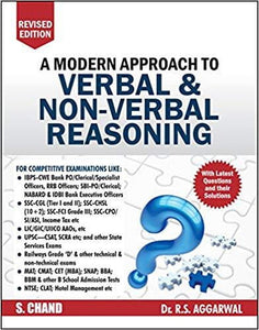 A Modern Approach to Verbal & Non-Verbal Reasoning by R.S. Aggarwal (2019-20 Session) - bookmarshal.com
