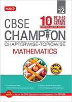 MATHEMATICS Chapterwise - Topicwise 10 years Papers - 12                 (2020 Edition)  CBSE - bookmarshal.com