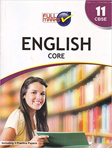 Full Marks -  ENGLISH CORE  - 11             (2020 - 2021)   CBSE - bookmarshal.com