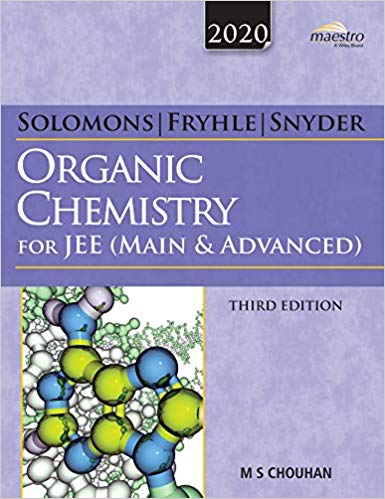 Organic Chemistry for JEE (Mains & Advanced) - Wiley's Solomon          (2020 Edition) - bookmarshal.com