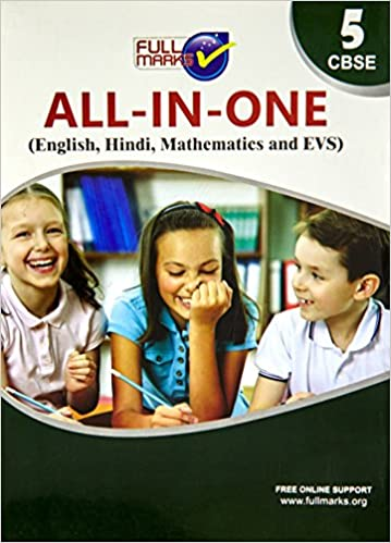All In One - Class 5 - (English, Hindi, Mathematics & EVS)         (2020 - 2021)    CBSE - bookmarshal.com