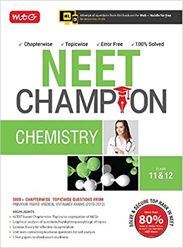 CHEMISTRY  Champion for NEET                  (2019 - 2020) - bookmarshal.com
