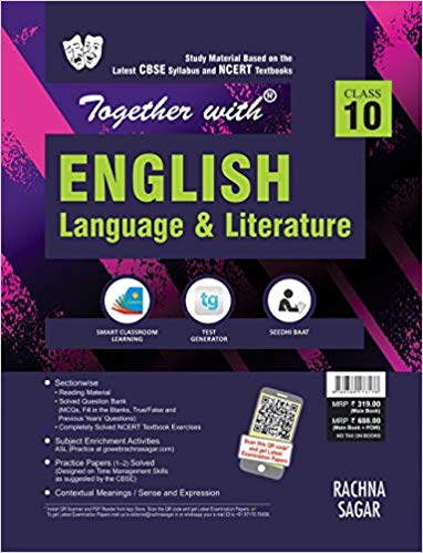 Together with  - ENGLISH (FIRST FLIGHT , FOOTPRINTS) study material - 10                  (2019 - 2020) - bookmarshal.com