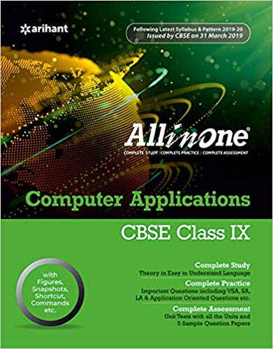 All in One  - COMPUTER APPLICATIONS - 9                  (2019 - 2020) - bookmarshal.com