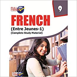 Full Marks -  FRENCH  - 9             (2019 - 2020)   CBSE - bookmarshal.com