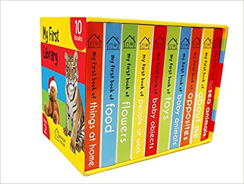 My First Library 2: Boxset of 10 Board Books for Kids - bookmarshal.com