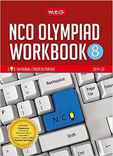 National Cyber Olympiad Work Book (NCO) - Class 8               (2019 - 2020) - bookmarshal.com