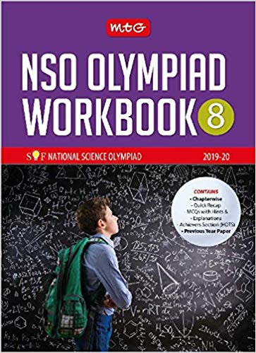 National Science Olympiad Work Book (NSO) - Class 8               (2019 - 2020) - bookmarshal.com