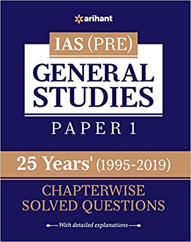25 Years' Chapterwise Solved Questions IAS Pre General Studies Paper I - bookmarshal.com