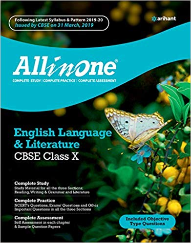 All in One  - ENGLISH LANGUAGE & LITERATURE (FIRST FLIGHT , FOOTPRINTS) - 10                  (2019 - 2020) - bookmarshal.com