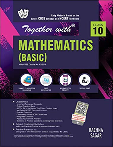 Together with  - MATHEMATICS (basic) Study Material - 10                  (2019 - 2020) - bookmarshal.com